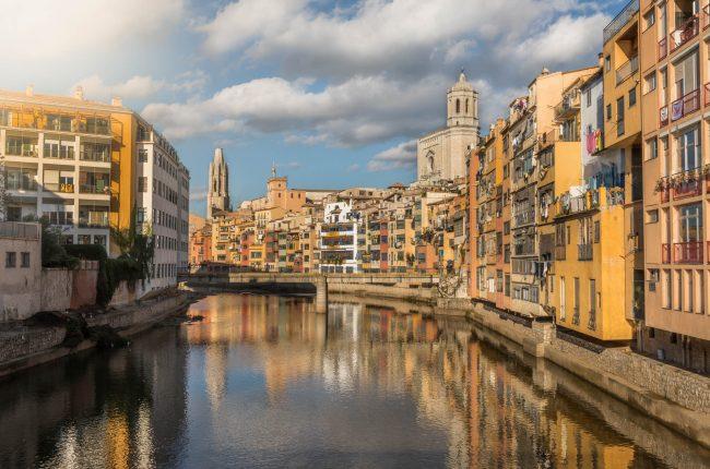 Girona canal by Olli Huhtala Photography